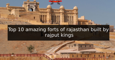 Top 10 amazing forts of rajasthan