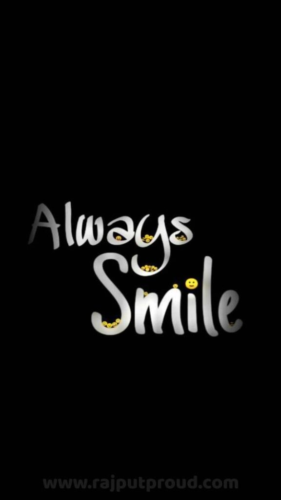 Always smile mobile wallpapers