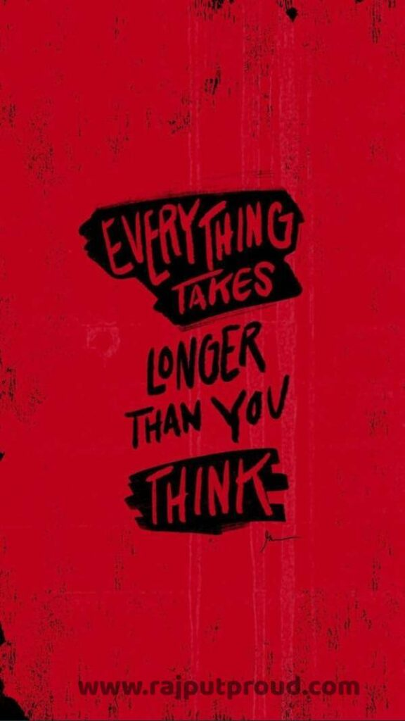 Everything Takes Longer Than You Think.
